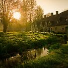 Arlington Row, The Cotswolds, England by Giles Clare