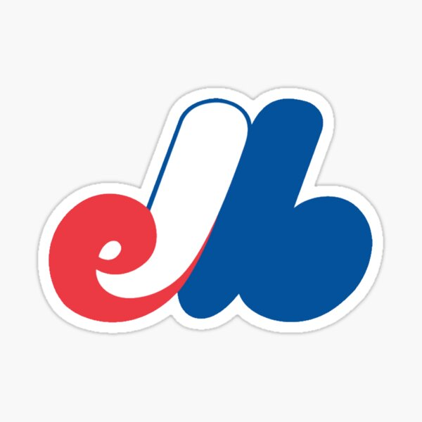 Montreal Baseball - Vintage The Expos Sticker