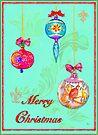 CHRISTMAS BALLS by Judy Mastrangelo