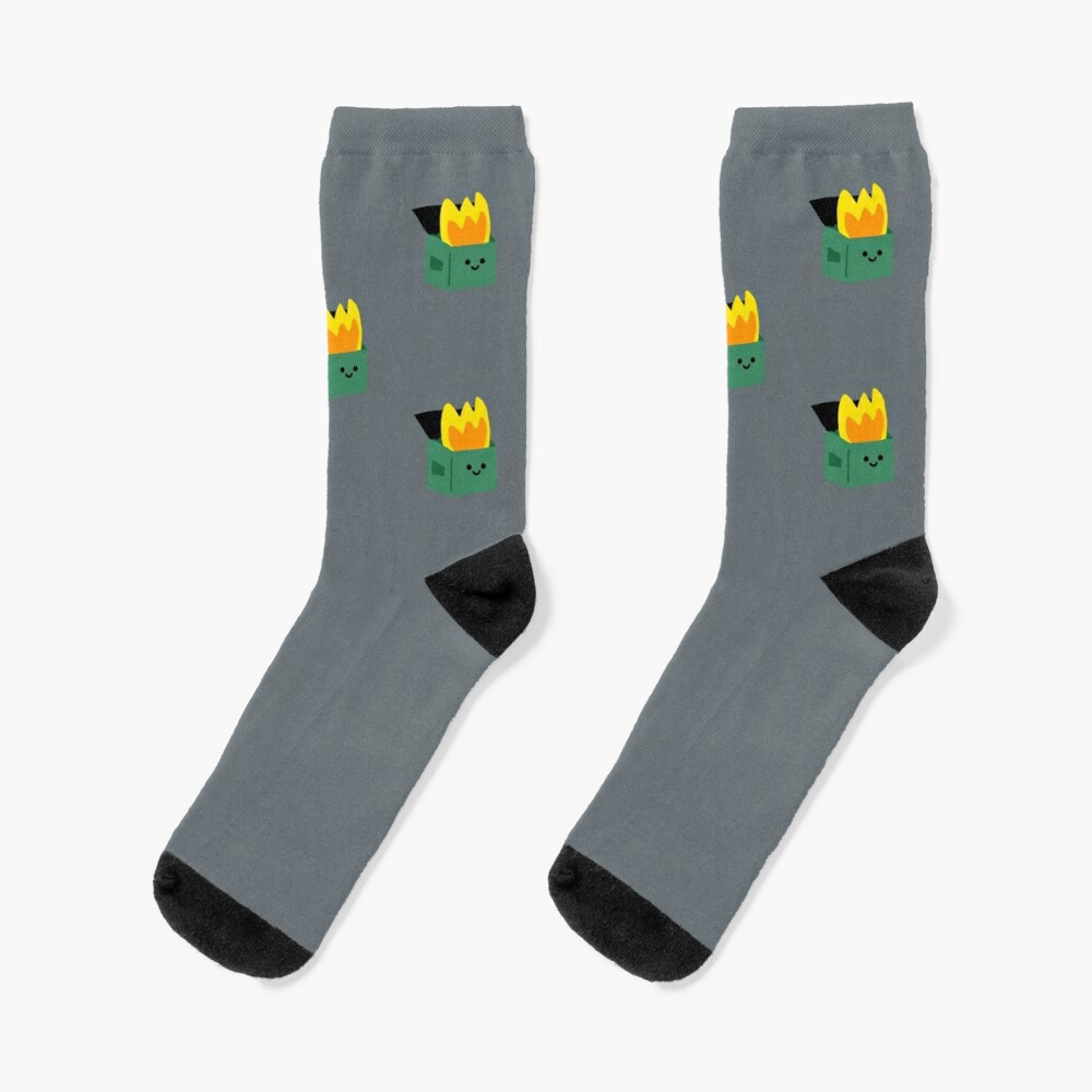 Happy Dumpster Fire Socks