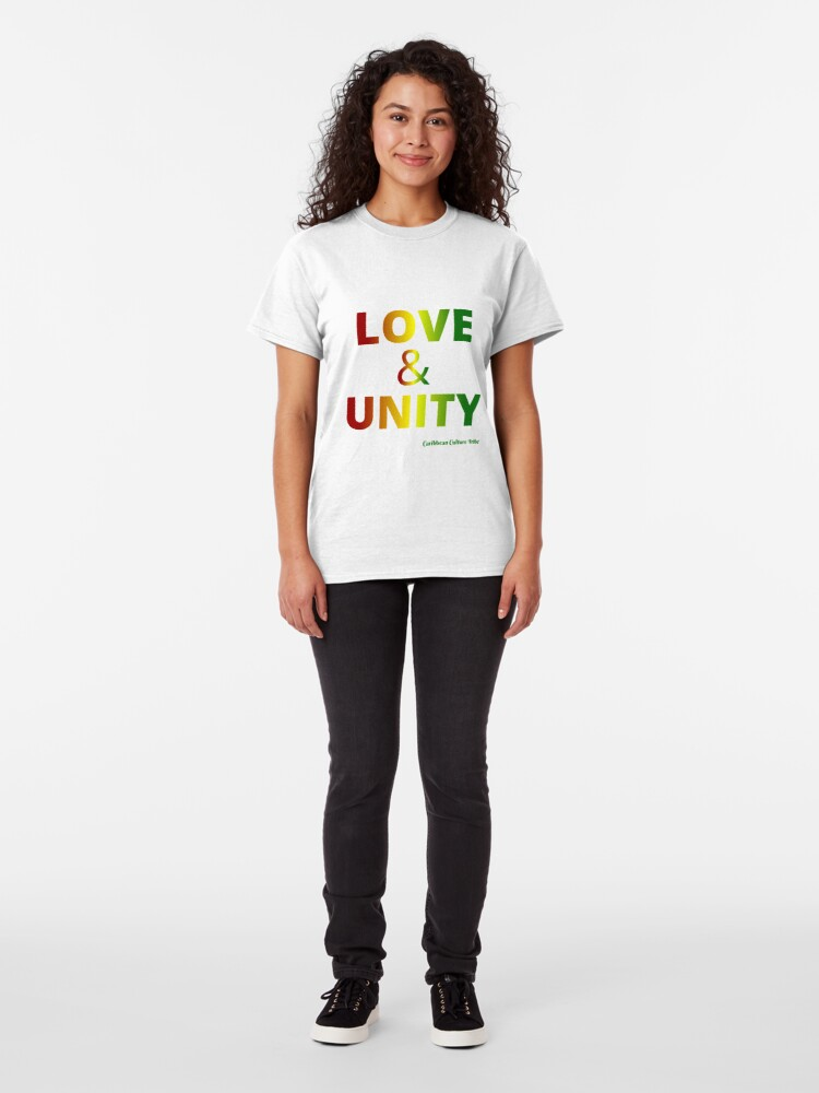 Alternate view of Love & Unity Classic T-Shirt