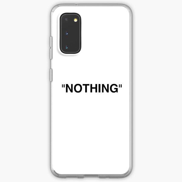 Nothing Black Samsung Galaxy Soft Case