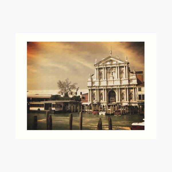 Church at Venice Art Print