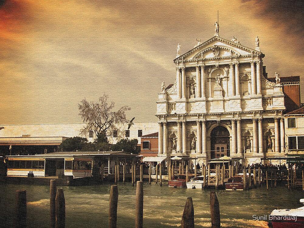 Church at Venice by Sunil Bhardwaj