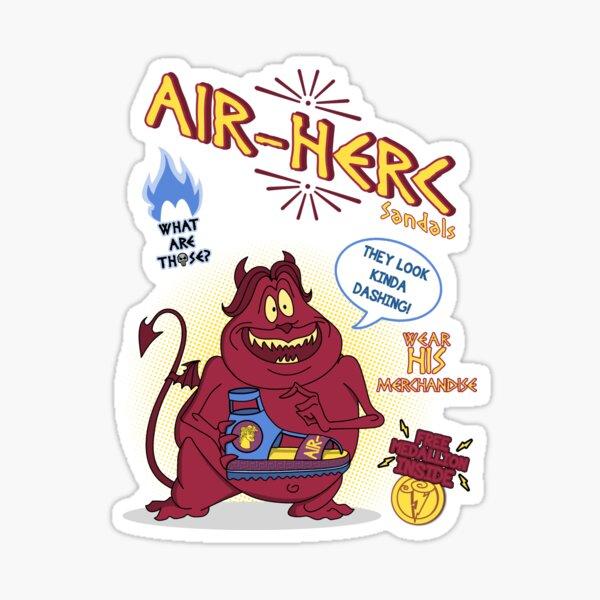 Air Herc Sandals Sticker