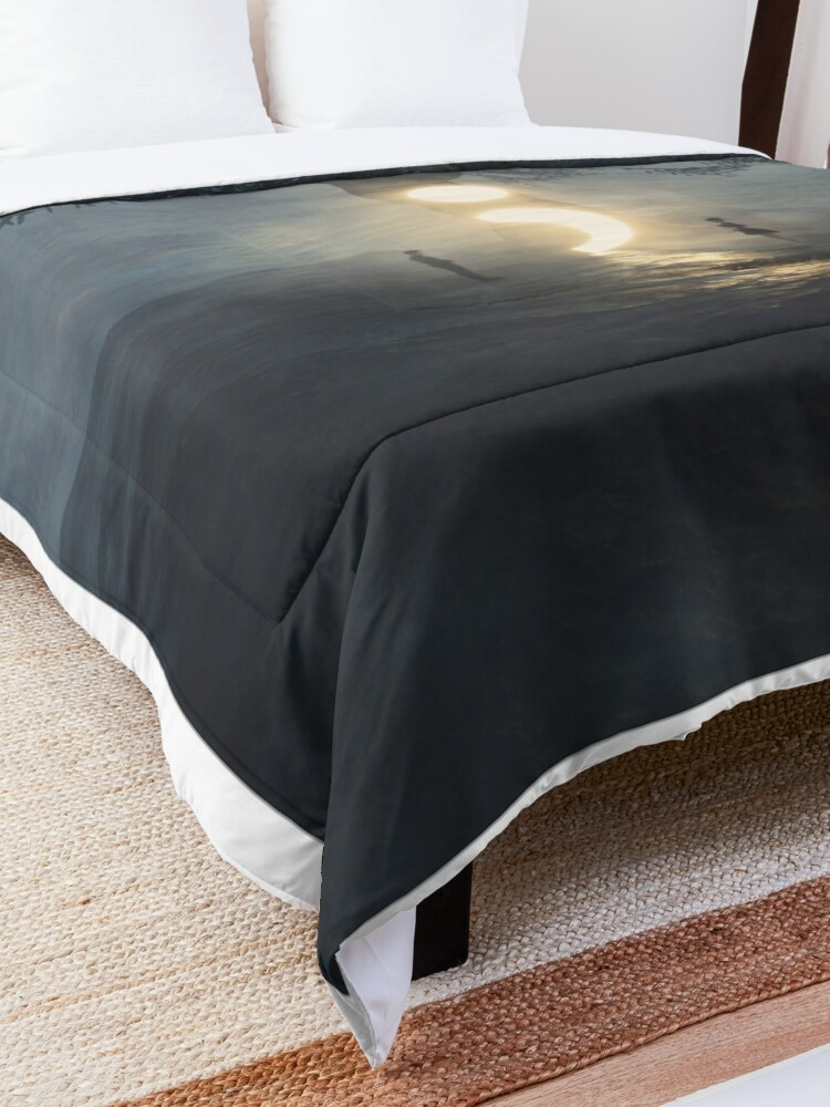 Alternate view of Semicolon - Cont;nue  Comforter