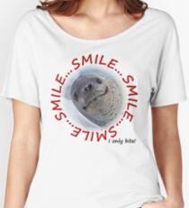 Smile...I only Bite! Women's Relaxed Fit T-Shirt