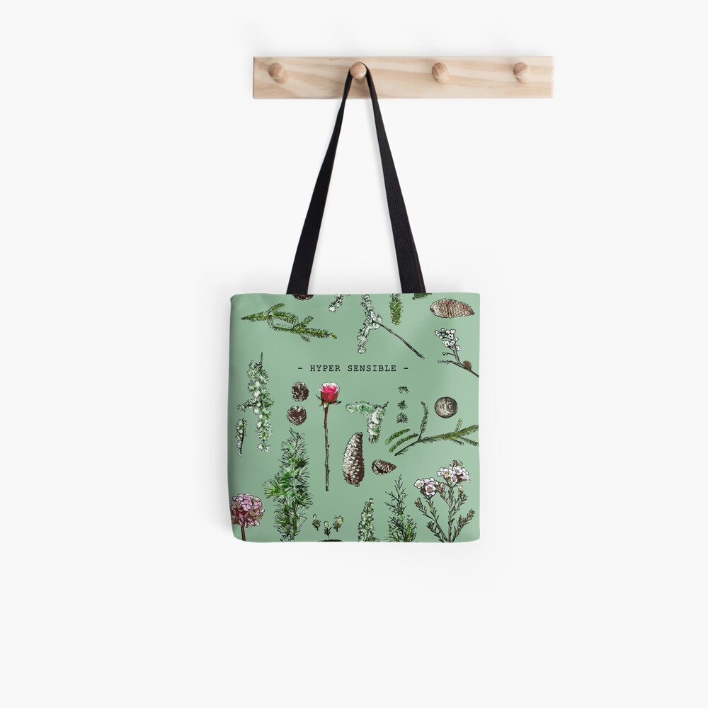 HYPER SENSITIVE (2) Tote Bag