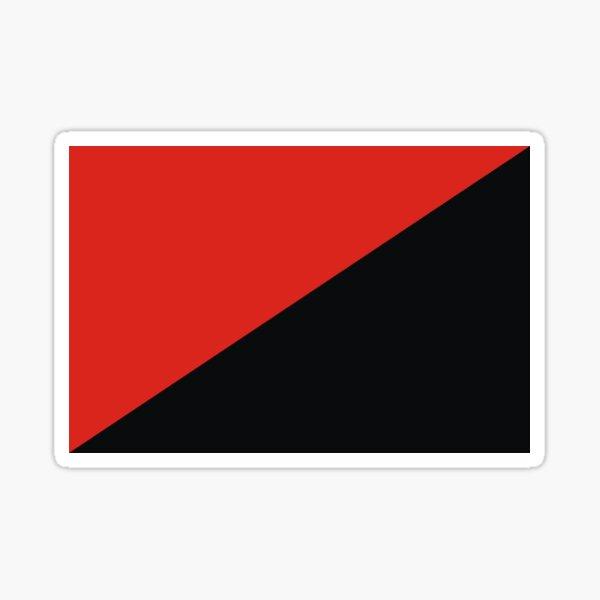 drapeau d'anarchie Sticker