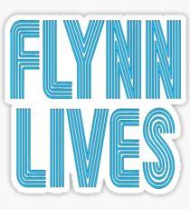 Flynn Lives Sticker