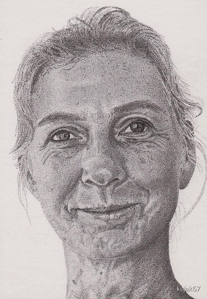 Ink Portrait Commission 2 by kojak67