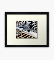 Cadillac Chrome Framed Print
