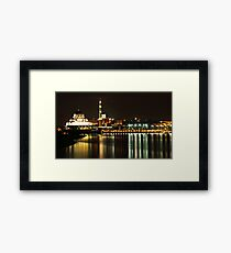 Putrajaya Night Cityscape Framed Print