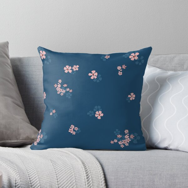 Dainty Geraldton Wax Throw Pillow