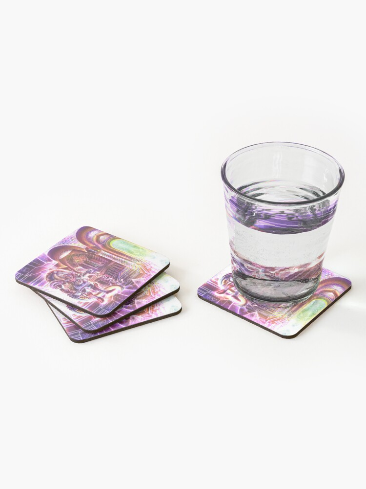 Alternate view of Sobek Coasters (Set of 4)