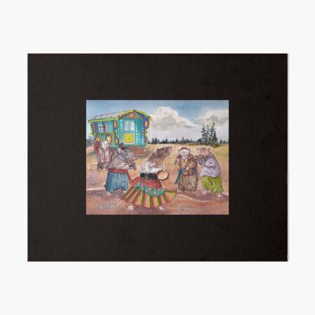 Gypsy Rats Art Board Print