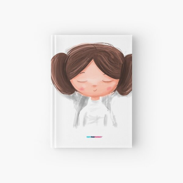 White Girl by Fran Ferriz Cuaderno de tapa dura