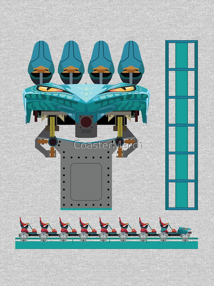 Leviathan Coaster Train Design - Canada's Wonderland Leviathan B&M by CoasterMerch