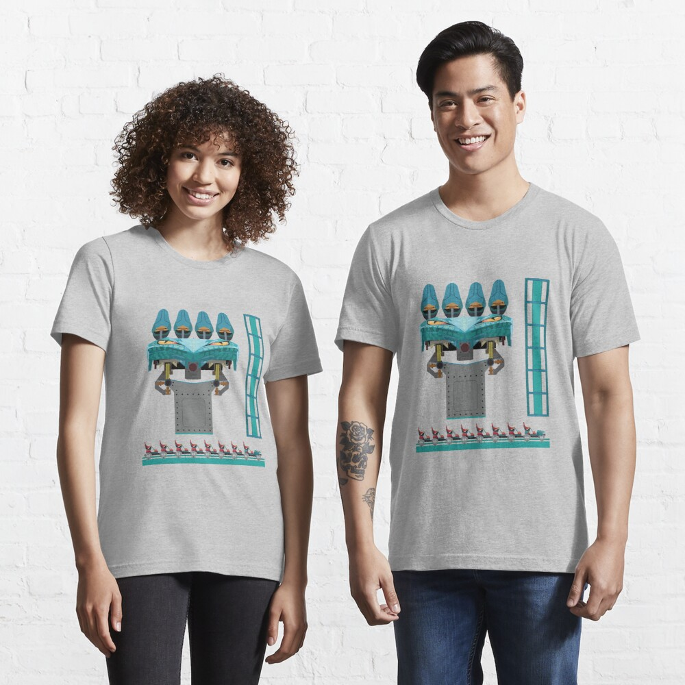 Leviathan Coaster Train Design - Canada's Wonderland Leviathan B&M Essential T-Shirt