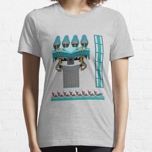 Leviathan Coaster Train Design - Canada's Wonderland Leviathan B&M Essential T-Shirt