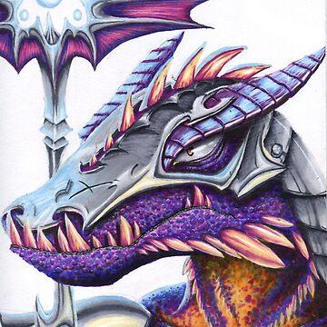 Warrior Dragon by TheDragonLady23