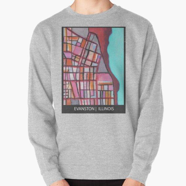 Evanston, IL Pullover Sweatshirt