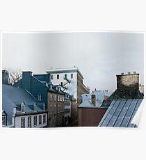 One November Morning in Quebec Poster