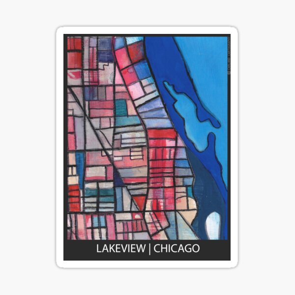 Lakeview, Chicago Sticker