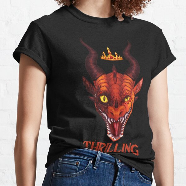 Wings of Fire - Queen Scarlet - Thrilling Classic T-Shirt