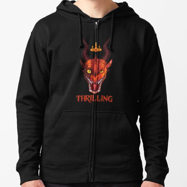 Wings of Fire - Queen Scarlet - Thrilling Zipped Hoodie