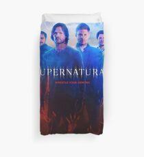 Supernatural Season 9 Promo Duvet Cover
