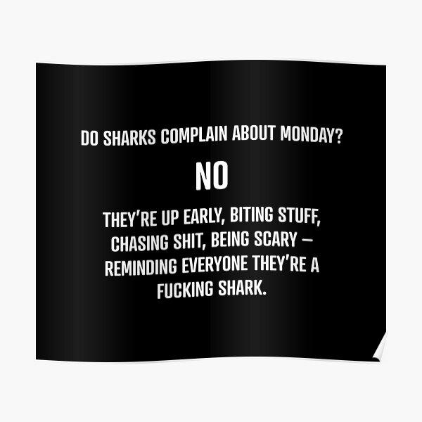 Shark Mentality Poster
