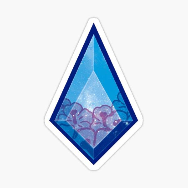 Blue diamond steven universe Glossy Sticker