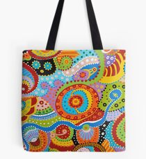 Quantum Strands (high resolution) Tote Bag
