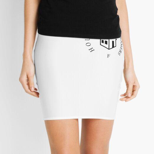 House Of Dreamers Logo Black Mini Skirt