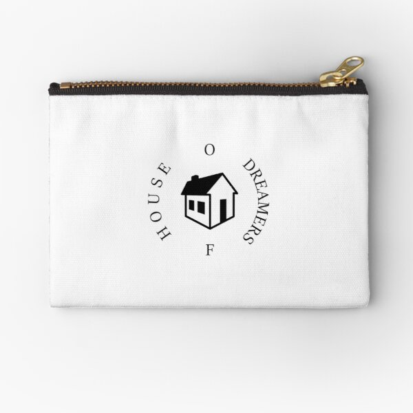 House Of Dreamers Logo Black Zipper Pouch