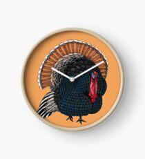 Turkey Totem Clock