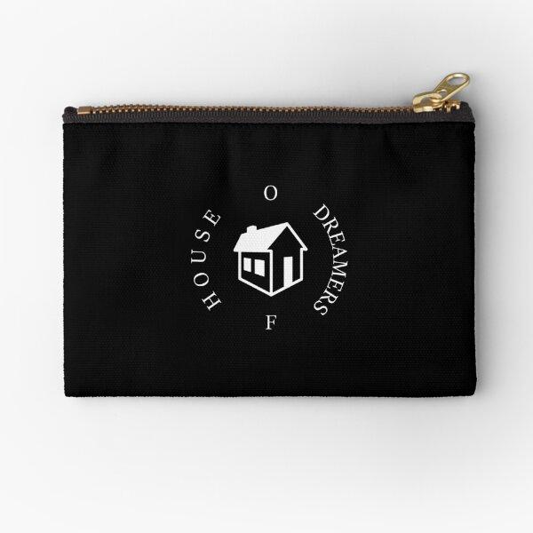 House Of Dreamers Logo White Zipper Pouch