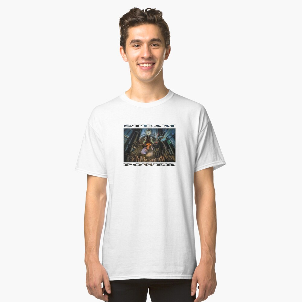 The Paddle Steamer Fireman Classic T-Shirt