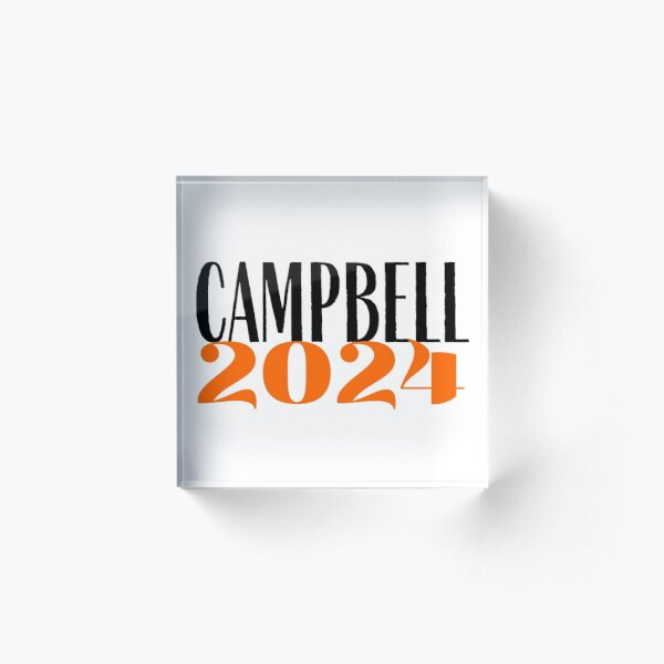 Campbell Class of 2024 Acrylic Block