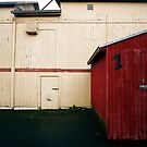 Red Shed - Portland, Oregon by Steven Newton