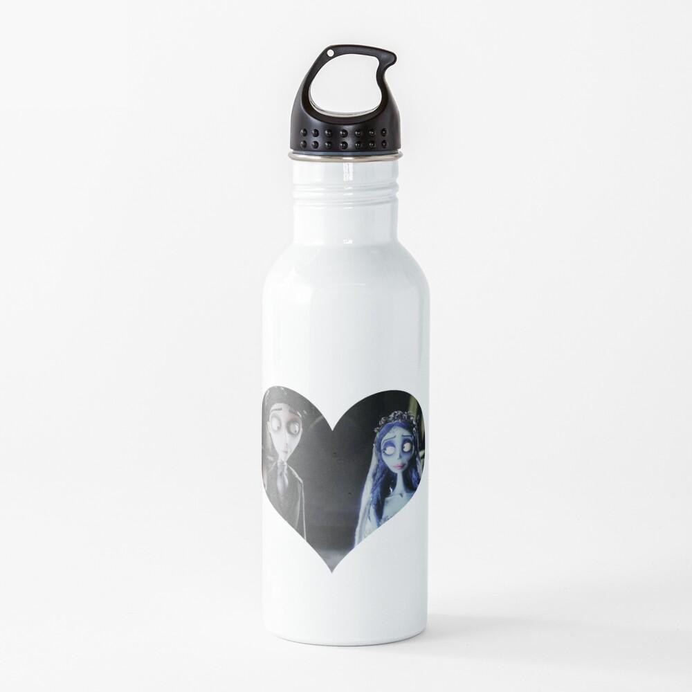Victor & Emily heart Water Bottle