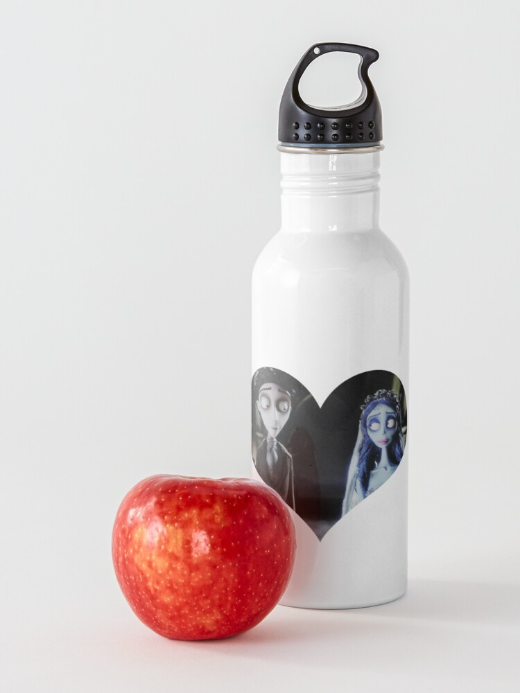 Alternate view of Victor & Emily heart Water Bottle