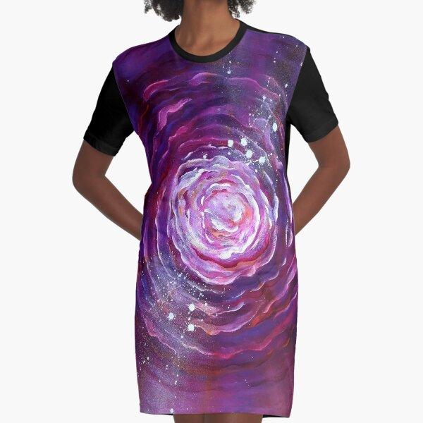 energy Graphic T-Shirt Dress