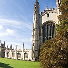 Kings Parade, Cambridge by Robert Ellis
