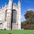 Cambridge, Keep off the grass by Robert Ellis