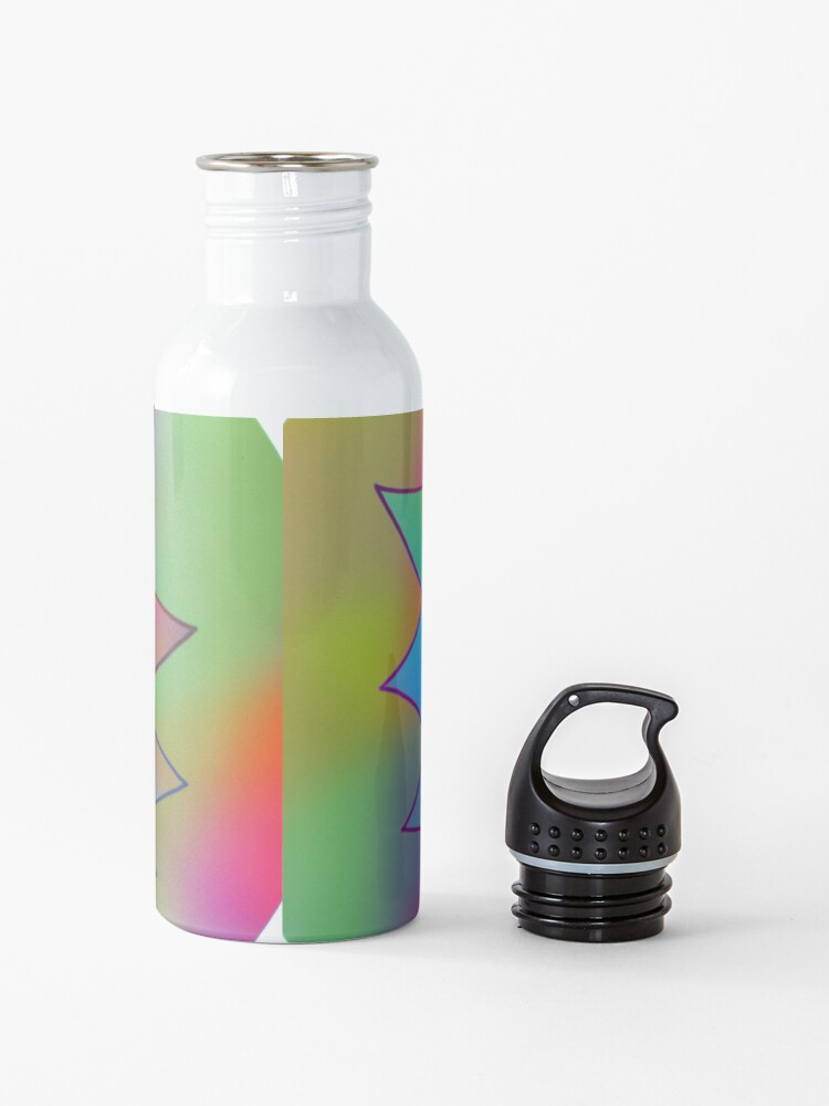 Alternate view of Rick and Morty | Rainbow Rick Water Bottle