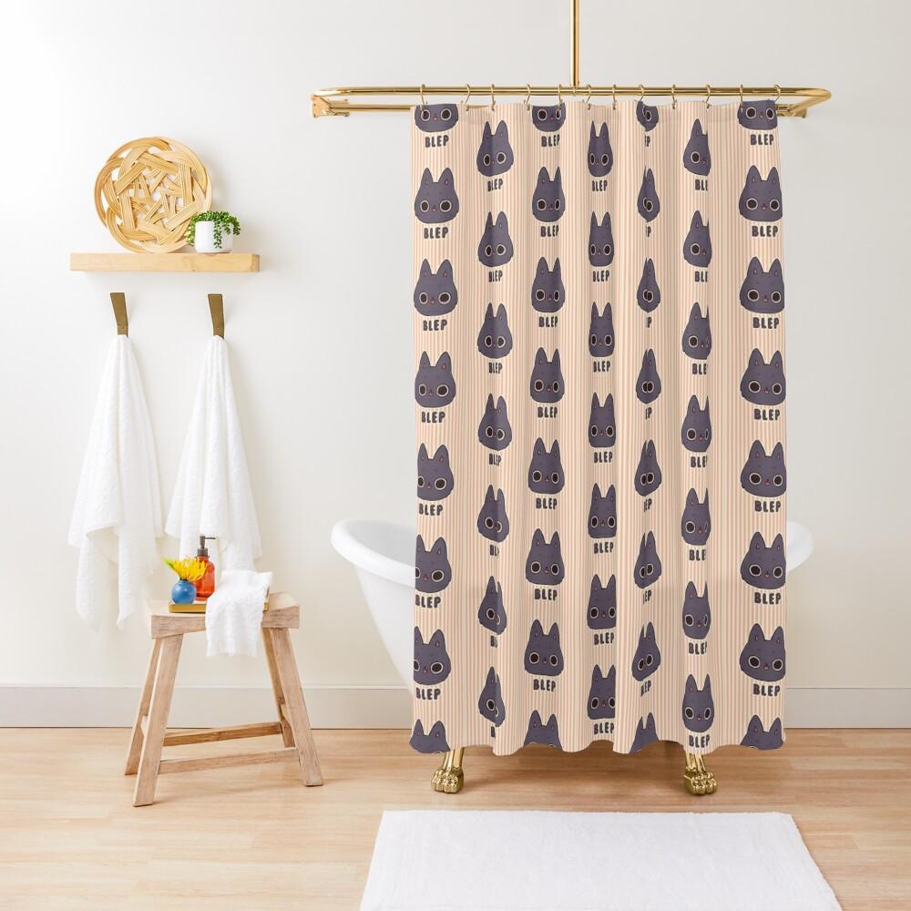 BLEP Shower Curtain