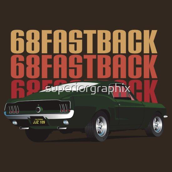 TShirtGifter presents: 68 Fastback