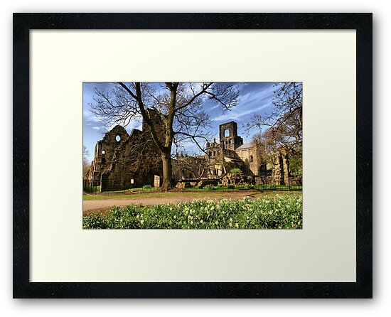 Kirkstall Abbey #2 by Sandra Cockayne